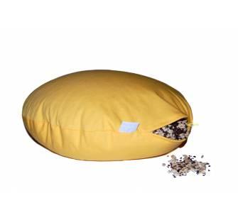 Meditační polštář 'čočka'